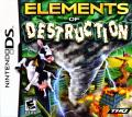Elements of Destruction Nintendo DS Front Cover