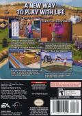 The Sims 2 GameCube Back Cover