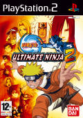 Shonen Jump: Naruto - Ultimate Ninja 2 PlayStation 2 Front Cover
