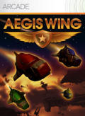 Aegis Wing Xbox 360 Front Cover