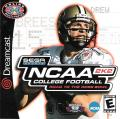 NCAA College Football 2K2: Road to the Rose Bowl Dreamcast Front Cover