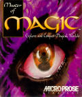 Master of Magic DOS Front Cover