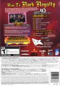 Guitar Hero: Aerosmith Macintosh Back Cover