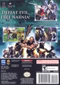 The Chronicles of Narnia: The Lion, the Witch and the Wardrobe GameCube Back Cover