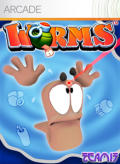 Worms Xbox 360 Front Cover