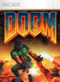 The Ultimate DOOM Xbox 360 Front Cover First version