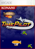Time Pilot Xbox 360 Front Cover