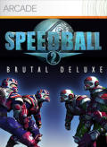 Speedball 2: Brutal Deluxe Xbox 360 Front Cover
