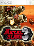 Metal Slug 3 Xbox 360 Front Cover
