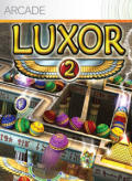 Luxor 2 Xbox 360 Front Cover