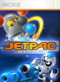 Jetpac Refuelled Xbox 360 Front Cover