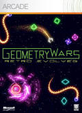 Geometry Wars: Retro Evolved Xbox 360 Front Cover