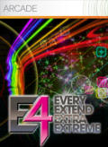 E4: Every Extend Extra Extreme Xbox 360 Front Cover