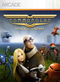 Commanders: Attack of the Genos Xbox 360 Front Cover