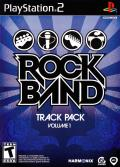 Rock Band: Track Pack - Volume 1 PlayStation 2 Front Cover