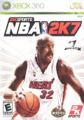 NBA 2K7 Xbox 360 Front Cover