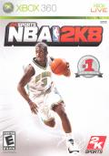 NBA 2K8 Xbox 360 Front Cover