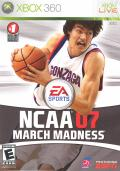 NCAA  March Madness 07 Xbox 360 Front Cover
