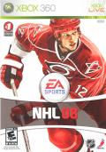 NHL 08 Xbox 360 Front Cover