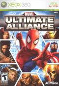 Marvel Ultimate Alliance Xbox 360 Front Cover