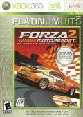 Forza Motorsport 2 Xbox 360 Front Cover