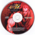 Street Fighter IV (Collector's Edition) Xbox 360 Media Soundtrack disc