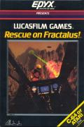 Rescue on Fractalus! Atari 8-bit Front Cover