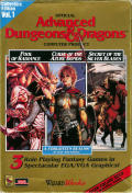 Advanced Dungeons & Dragons Collectors Edition Vol. 1 DOS Front Cover