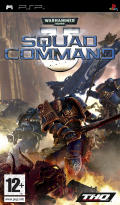 Warhammer 40,000: Squad Command PSP Front Cover