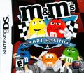 M&M's Kart Racing Nintendo DS Front Cover