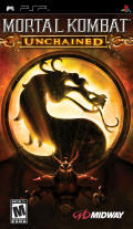 Mortal Kombat: Unchained PSP Front Cover