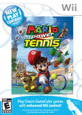 Mario Power Tennis Wii Front Cover