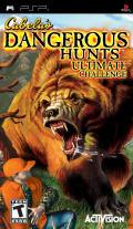 Cabela's Dangerous Hunts: Ultimate Challenge PSP Front Cover