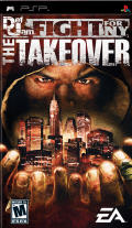 Def Jam Fight for NY: The Takeover PSP Front Cover