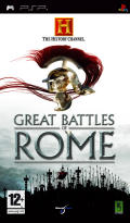 The History Channel: Great Battles of Rome PSP Front Cover