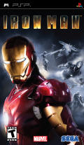 Iron Man PSP Front Cover