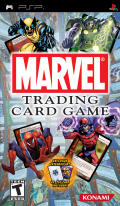 Marvel Trading Card Game PSP Front Cover