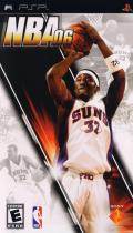 NBA 06 PSP Front Cover