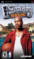 NBA Ballers: Rebound PSP Front Cover