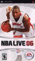 NBA Live 06 PSP Front Cover