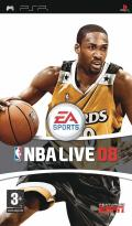 NBA Live 08 PSP Front Cover