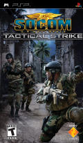 SOCOM: U.S. Navy SEALs - Tactical Strike PSP Front Cover