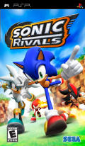Sonic Rivals PSP Front Cover