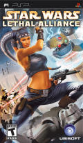Star Wars: Lethal Alliance PSP Front Cover