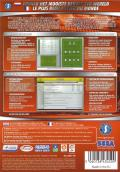 Worldwide Soccer Manager 2008 Macintosh Back Cover
