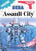 Assault City SEGA Master System Front Cover