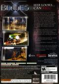 X-Blades Xbox 360 Back Cover