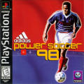 adidas Power Soccer 98 PlayStation Front Cover