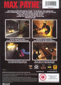 Max Payne Xbox Back Cover