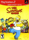 The Simpsons Game PlayStation 2 Front Cover